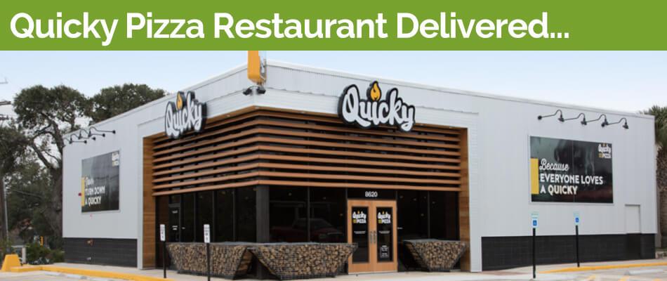 NeoM Quicky Fire Wood Pizza Restaurant San Antonio Construction Slider