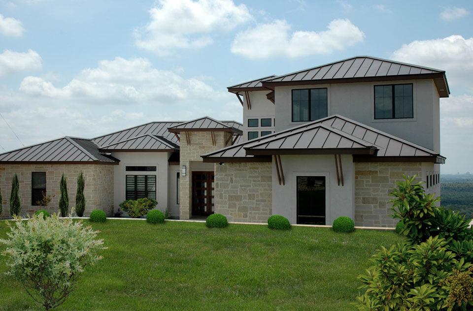 Facade NeoM Construction New Home Great Navajo San Antonio TX